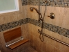 2-Fold down seat and hand held shower 2